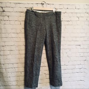 Loft herringbone dress pants